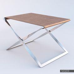 PK91 Folding stool 3D Model .max .obj .fbx