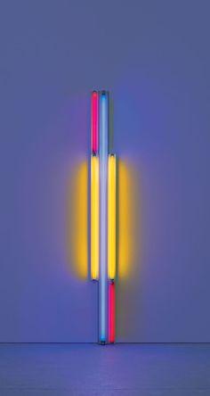 Dan Flavin –untitled (to Piet Mondrian) 1985