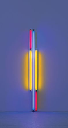 Dan Flavin – untitled (to Piet Mondrian) 1985