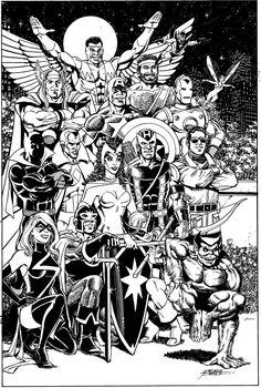 Marvel Comics of the 1980s: Some George Perez Love!