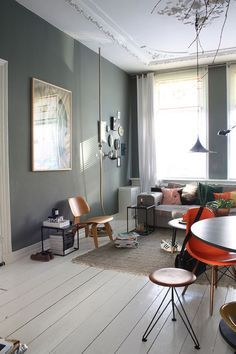 Casinha colorida: Três exemplos de decoração retrô/vintage