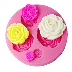 Longzang F0130 DIY Cake Decorating Fondant Silicone Sugar Craft Mold, Mini