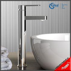 Baterie lavoar inalta pe blat Gio Ideal Standard, Modern, Sink, Bathtub, Bathroom, Home Decor, Style, Outer Space, Pedestal