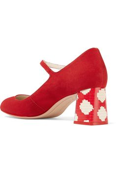 Sophia Webster | Renee suede Mary Jane pumps | NET-A-PORTER.COM