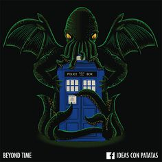 Cthulhu and Doctor Who meet where they online can... Beyond Time!
