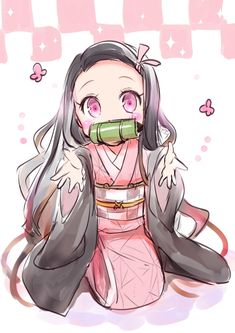Read Demon Slayer Manga Online in Hight Quality. Anime Angel, Anime Demon, Cute Anime Chibi, Anime Girl Cute, Kawaii Anime Girl, Demon Slayer, Slayer Anime, Otaku Anime, Manga Anime
