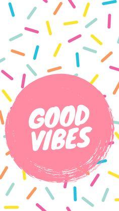 Good vibes only ✌🏻 Good Vibes Wallpaper, Happy Wallpaper, Pink Wallpaper, Wallpaper Quotes, Iphone Wallpaper, Wallpaper Backgrounds, Beautiful Wallpaper, Cartoon Wallpaper, Good Vibes Art