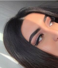 Image discovered by ⠀⠀⠀. Find images and videos about girl, makeup and make up on We Heart It - the app to get lost in what you love. Makeup Eye Looks, Cute Makeup, Pretty Makeup, Skin Makeup, Makeup Goals, Makeup Inspo, Makeup Tips, Beauty Makeup, Hair Beauty