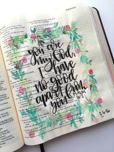 Bible journaling by @courtkassner on Instagram