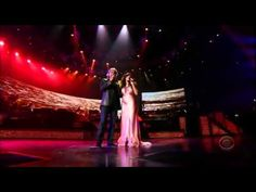 Our first dance song-- Andrea Bocelli / Katharine McPhee- Somos Novios Live