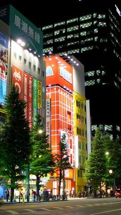japan, tokyo, evening, city, street