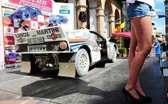 #martini #racing #lancia #pirelli #girls