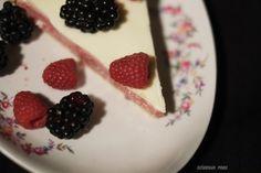Summer tart with rasperries  recipe: www.dziarskapara.pl