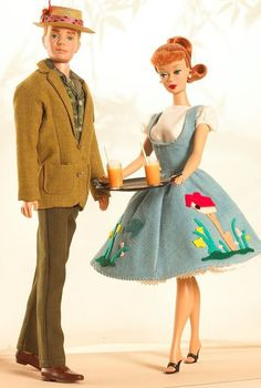 Looking for the Friday Night Dream Date Barbie and Ken Doll set? Immerse yourself in Barbie history by visiting the official Barbie Signature Gallery today! Barbie Und Ken, Old Barbie Dolls, Ken Doll, Ag Dolls, Barbie Dress, Barbie Clothes, Doll Museum, Barbie Website, Barbie Collector