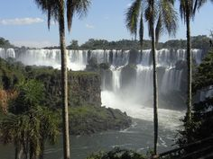 Magnificent waterfall in Brasil, South America. Photo by Danielle Curley