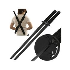 Ninja Assassin Twin Sword Set 18 Inch:Amazon:Sports & Outdoors ($18) ❤ liked on Polyvore featuring weapons, accessories and ninja