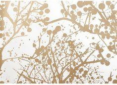 Papier Peint Wilderness  Papier peint aux formes abstraites et nuances différentes.  Le prix correspond à un rouleau. Il mesure 10 mètres de long, pour 53cm de large.   Le motif est ...