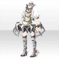 アストラルアルケミー|@games -アットゲームズ- Character Outfits, Character Art, Character Design, Chibi, Steampunk Clothing, Steampunk Outfits, Unique Costumes, Mini One, Cocoppa Play