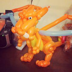 Balloon Charizard! Gotta catch em all, Pokémon!
