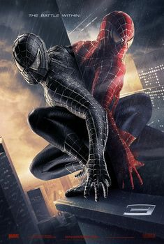 Spider-man 3 Movie Poster by Vox and Associates (2007)