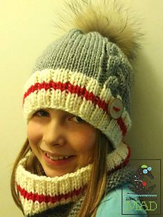 Here is my all new pattern, a beautiful hat and neck-warmer with a cable to add a feminine touch to it.