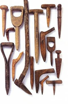 Old and extinct tools