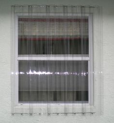 Clear Lexan storm panels.  You know Shelley has some.