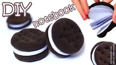 Everyone likes Oreo and other Chocolate Sandwich Cookies! In this video tutorial I show how to make small DIY notebooks that look like this amazing dessert. ...