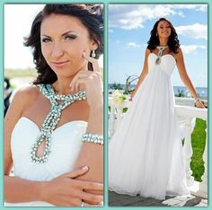 #Jovani White at the prom invokes elegance and style. Wear it with a gorgeous statement necklace!  #jovaniprom #jovanidresses  http://www.jovani.com/prom-dresses