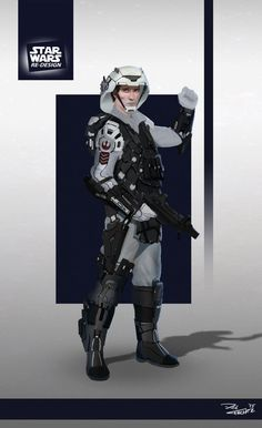 Star Wars ReDesign: Rebel Trooper by Phil-Sanchez on DeviantArt