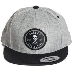 Inked Boutique - Docks Snapback Hat (Also available in charcoal!) Skull Logo Tattoo Art Lifestyle  www.inkedboutique.com
