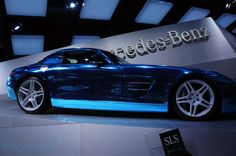 SLS AMG Electric Drive - Engadget Galleries