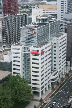Shell Office view at Hofpoort Rotterdam
