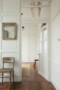 Couloir Blanc Maison Reims Créateurs de La Maison Jaune Julien et Élodie Régnier