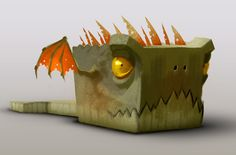 Cube, romain flamand on ArtStation at https://artstation.com/artwork/cube-2802d7f9-f701-4dc3-9b7b-81cbc5c50e99