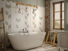 Rhombus Wall Tiles by Equipe. Wall And Floor Tiles, Wall Tiles, Bathroom Wall, Bathroom Interior, Bathroom Ideas, Remodel Bathroom, Bathroom Organization, Shower Tile Patterns, Tile Suppliers