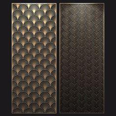 Pattern Wall, Jaali Design, Cnc Cutting Design, Motif Art Deco, Window Grill Design, Room Partition Designs, Laser Cut Panels, Door Gate Design, Wood Cladding