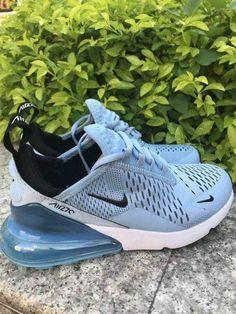 Womens Sneakers – High Fashion For Women Cute Sneakers, Sneakers Mode, Casual Sneakers, Sneakers Fashion, Shoes Sneakers, Fashion Boots, Fashion Outfits, Nike Shoes Blue, Nike Air Shoes