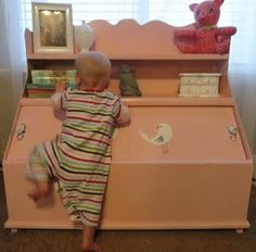Revamped Toy Box I Had One Like This