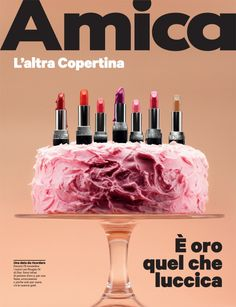 Amica Magazine's new editor-in-chief Cristina Lucchini has appointed creative agency Chandelier Creative to give the women's fashion and lifestyle magazine, originally launched in 1962, a complete facelift. The goal is to engage and inspire the new generation of readers through highly visual imagery