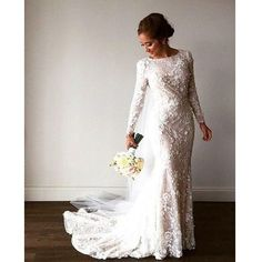 Unique Long Sleeves Gorgeous Lace Long Bridal Wedding Dresses, PM0620 The dress is fully lined, 4 bones in the bodice, chest pad in the bust, lace up back or zipper back are all available. This dress could be custom made in size and color, there are no extra cost. Description of dress 1, Material: lace, applique, pongee, elastic silk like satin. 2, Color: picture color or other colors, there are many colors available, please contact us if you need fabric swatch. 3, Size: standard size or…