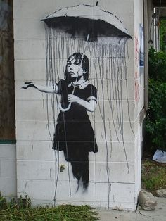Sometimes my days are like this too.....  -Bansky