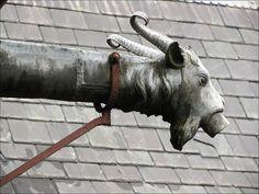 Goat Gargoyle, Cardiff Castle