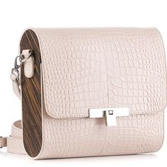 Crocodile Embossed Handbag FJORD with Wood, Natural Dried Flowers Epoxy Resin, Genuine Leather Top Handle Bag Shoulder Cross Body Bag Material: croc-embossed genuine leather Side Details: decorated with jewelry resin and dried flowers Mini Size: inches Cheap Purses, Cheap Handbags, Handbags Michael Kors, Tote Handbags, Purses And Handbags, Leather Handbags, Luxury Handbags, Popular Handbags, Leather Bags