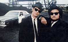 "dan aykroyd & john belushi, who, as far as i'm concerned, cannot be separated.    ""i hate illinois nazis."""