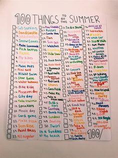 a faire🌞 – Summer bucket list for teens – Sommer Summer Bucket List For Teens, Summer Fun List, Summer Kids, Summer Goals, Teen Bucket List, Teen Summer Crafts, Teen Crafts, Bullet Journal Ideas Pages, Bullet Journal Inspiration