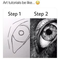 """2,842 mentions J'aime, 134 commentaires - Sharing Inspiration Worldwide. (@snaptweet) sur Instagram: """"Lmao I asked my friend for a eye tutorial drawing and then she sends me this back Sent in by…"""""""
