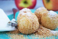 Steirische #Apfelknödel ist ein gutes und günstiges Rezept. Es kann als süße Hauptspeise oder auch als Nachspeise serviert werden.