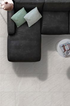 "Come discover the Halcon Darwin Collection. Floor tiles made in Spain.  2 classic colors. Available sizes 12""x24"""
