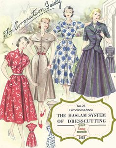 The Haslam System of Dressmaking No. 23 by MyVintageWish on Etsy